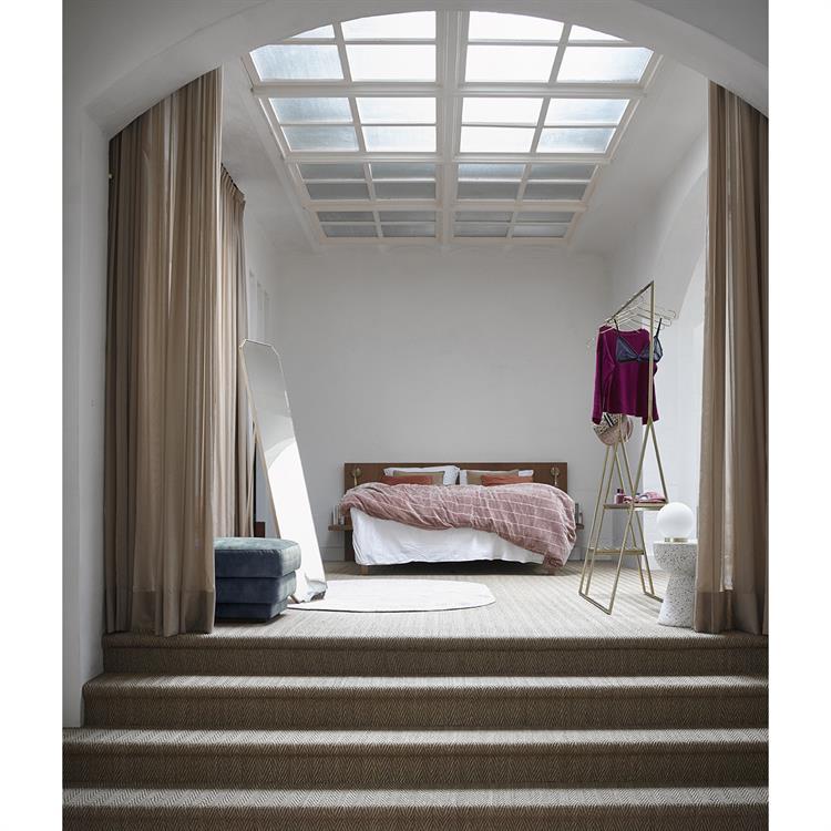 bawełniana narzuta na łóżko