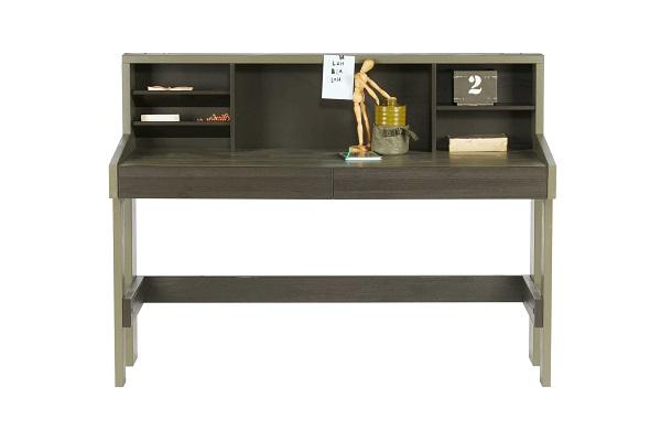 biurko skandynawskie z półkami