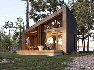 projekt domu z antresolą